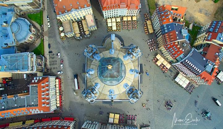 Frauenkirche Dresden – over thetop