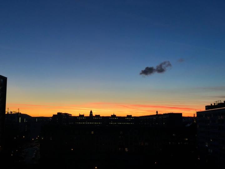 Timelapse – Sunset @ DresdenJohannstadt